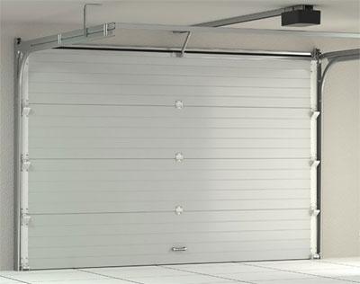 Секционные ворота, управляемые при помощи привода Doorhan SE-800
