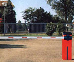 Пример монтажа bft moovi 30 на стоянке